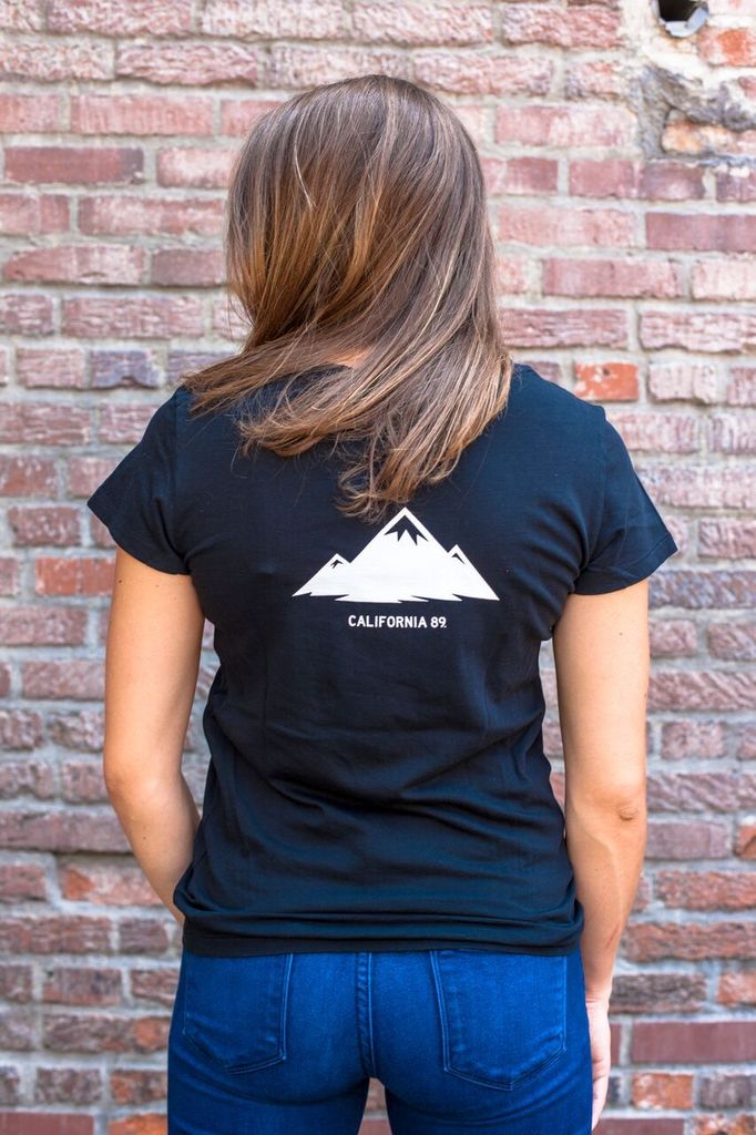 California 89 CA89 Mountain Women's Tee