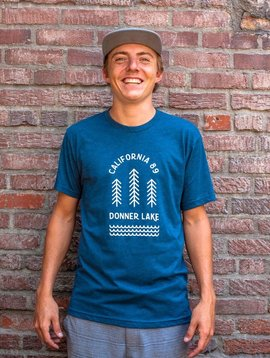 California 89 Men's short sleeve Donner Lake tshirt