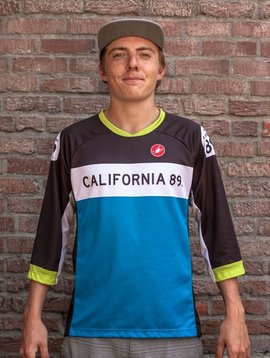 California 89 Castelli Unisex Mountain Bike Jersey