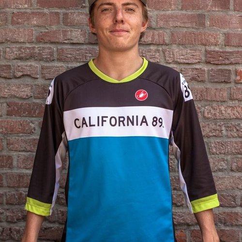 California 89 Unisex Castelli Mountain Bike Jersey