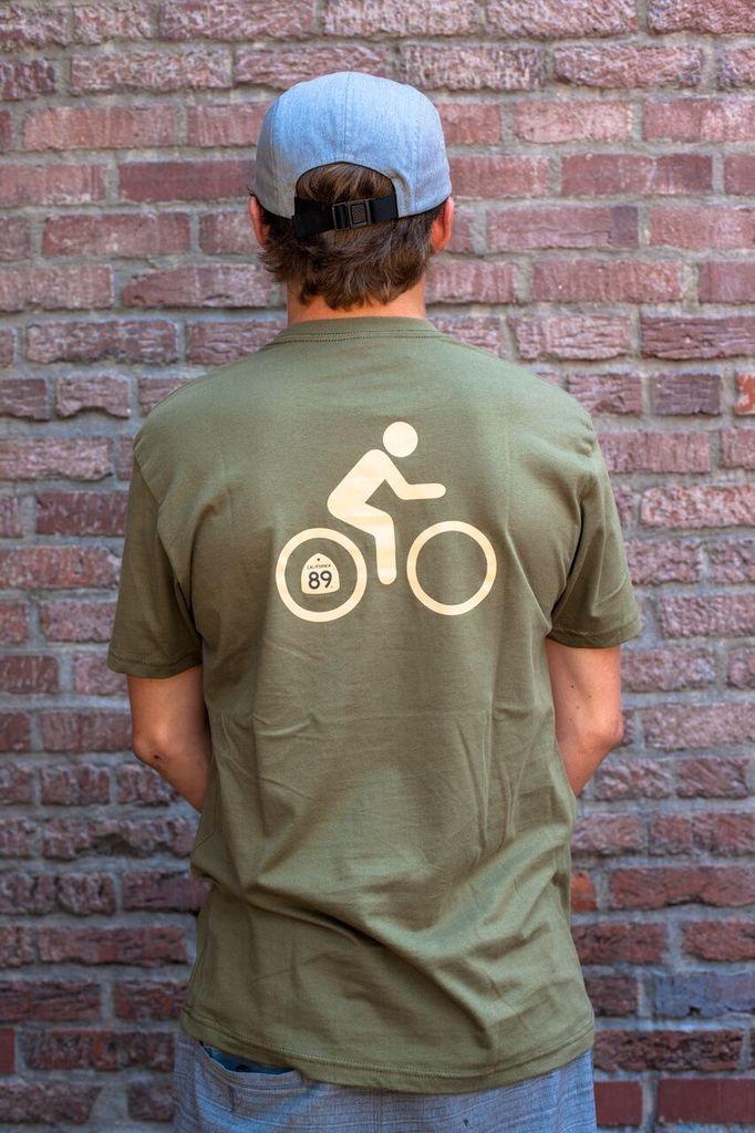 California 89 Bicycle Men's Tee