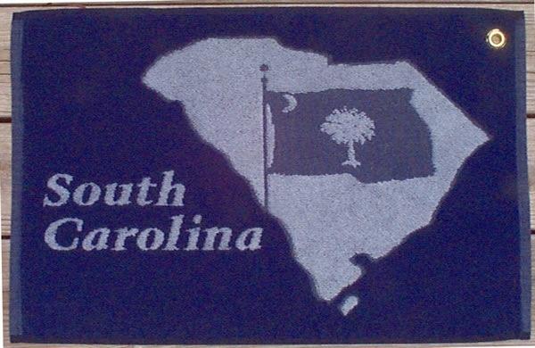 Gift Items SC Flag Golf Towel