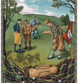 Gift Items Nostalgic Golf Throw