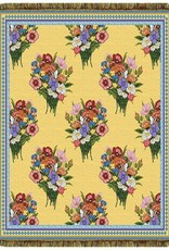 Gift Items Bouquet Flowers Throw