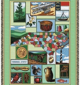 Gift Items NC Heritage Throw