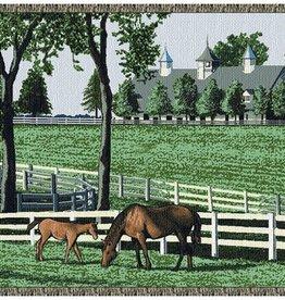 Gift Items Kentucky Dreamin - Horses Throw
