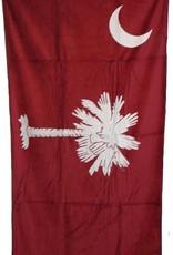 Gift Items South Carolina Flag - Sheared Jacquard Beach Towel