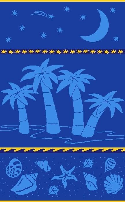 Gift Items Aloha - Sheared Jacquard Beach Towel