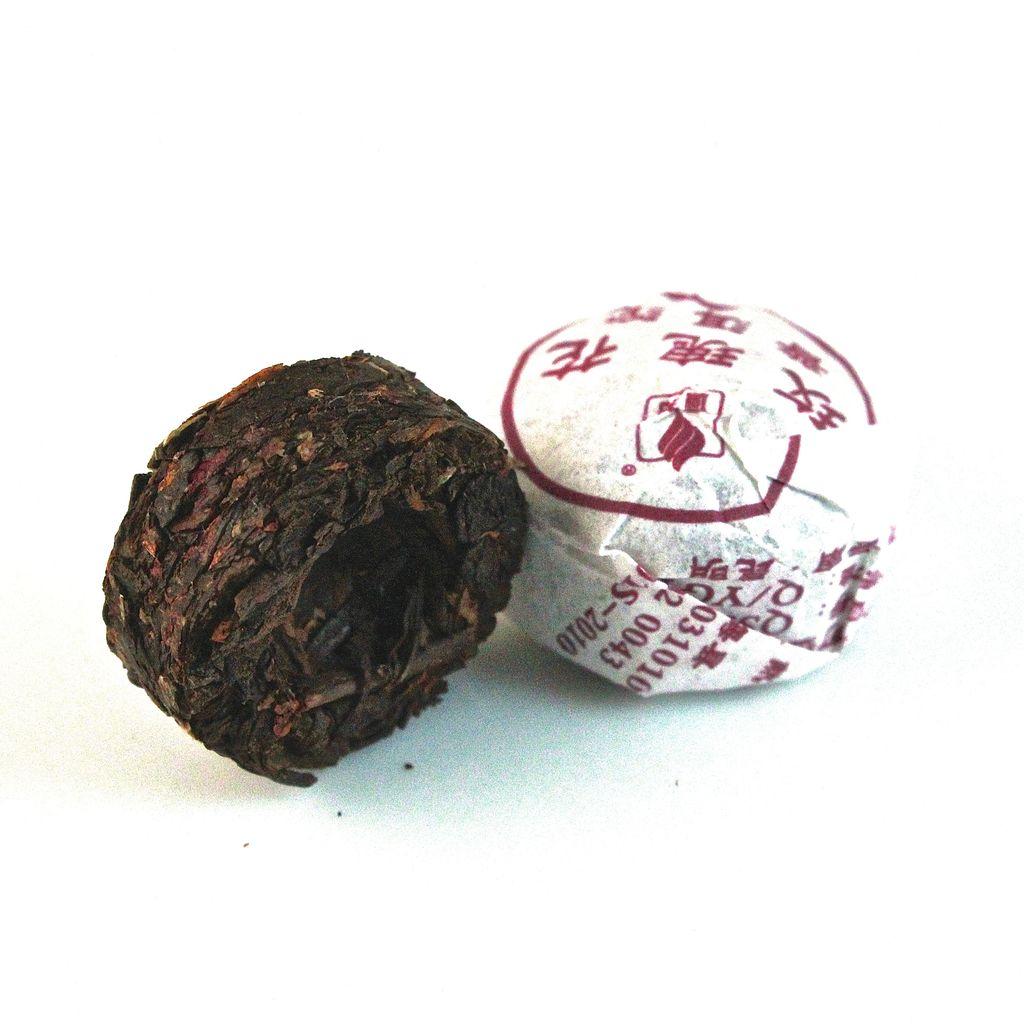 Teas Rose Pu-Erh Display Tea
