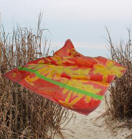 Textiles Sailboat Palms- Sheared Jacquard Beach Towel