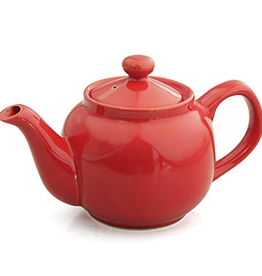 Tea products 2 Cup Hampton Vermillion Tea Pot