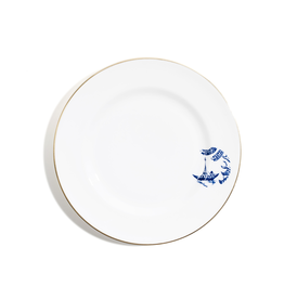 Tea products Richard Brendon Rimmed Bread and Butter Plate - Willow Pattern