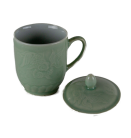 Tea products Green Tea Cup with Lid