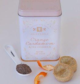 Food Tea Cookies Orange Cardamom