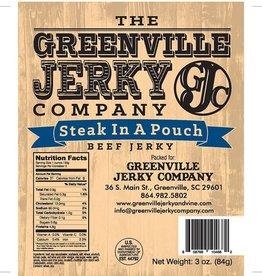 Food Beef Jerky Steak in a Pouch
