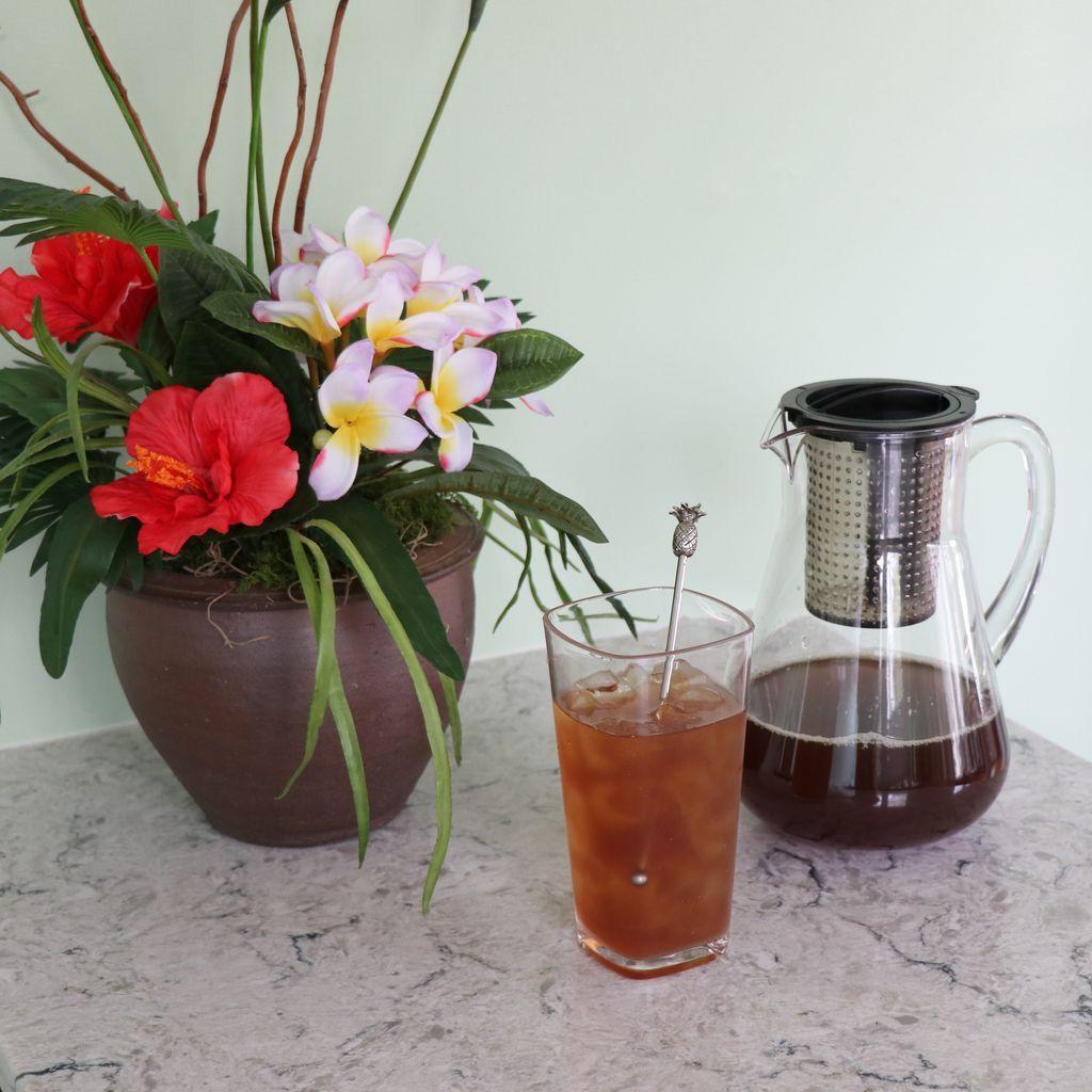 Teas 1 Gallon Iced Tea Bags with Peach Flavor