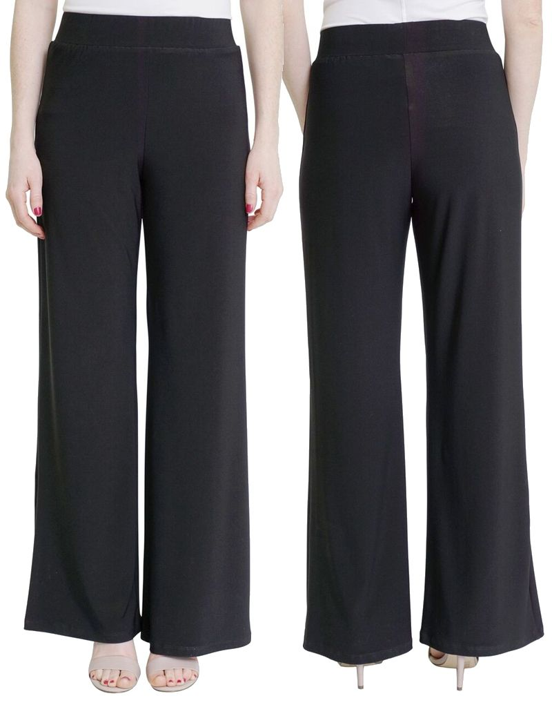COMPLI K Pull on Wide Leg Knit Pant