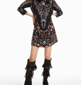 Desigual Clementine 3/4-Sleeve Floral Dress