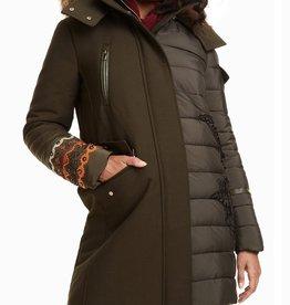 Desigual Monica Padded Parka Jacket