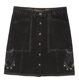 Desigual Martia Button Denim Skirt