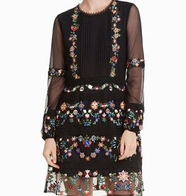 Desigual Berna Floral Folk Dress