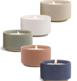 Paddywax Mesa Speckled Ceramic Candle