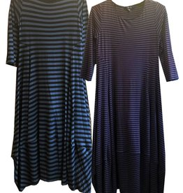 Comfy Kati Dress Stripe