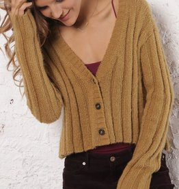 Wooden Ships Maizie Solid Cardigan