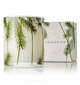 Thymes Frasier Fir Poured Candle with Needle Decoration