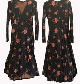 Plume & Thread Wrap Dress Long w/pockets