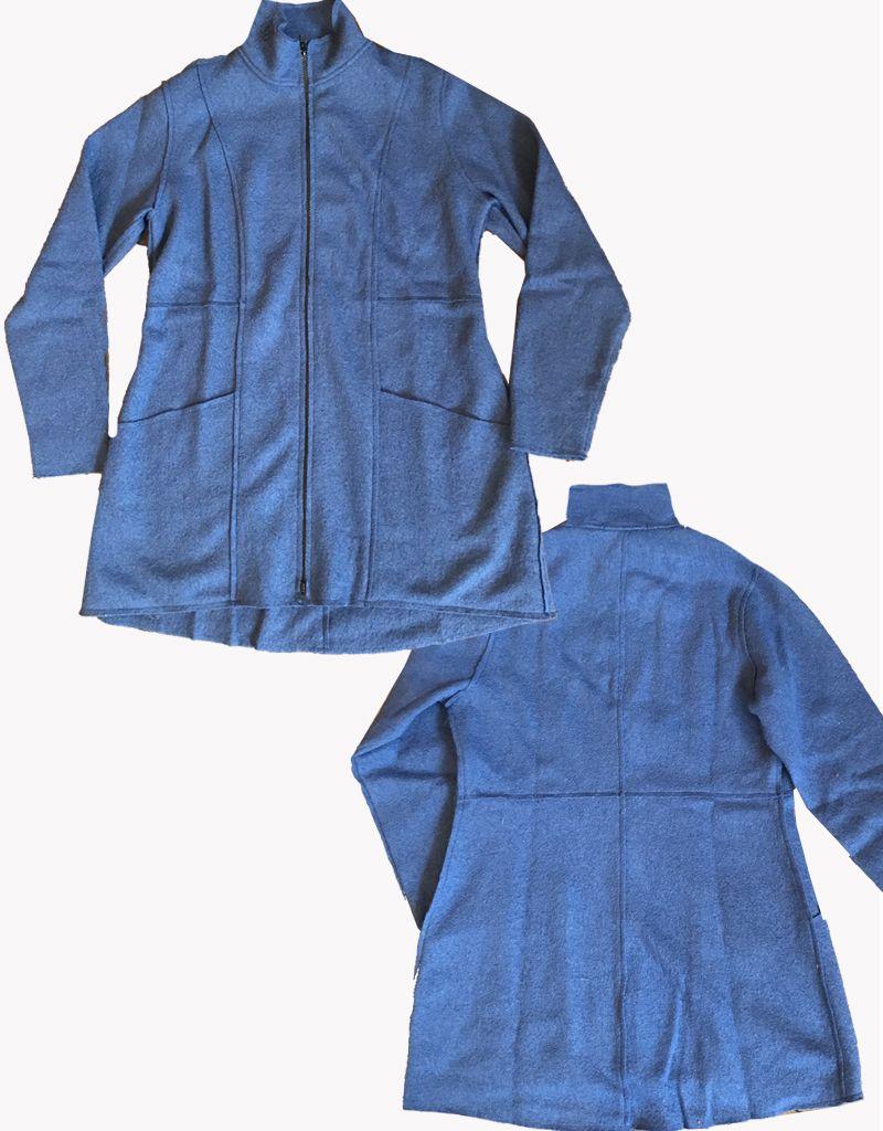 Cut Loose Zip Jacket Boiled Wool