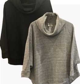 Plume & Thread Cowl Neck Cape Top