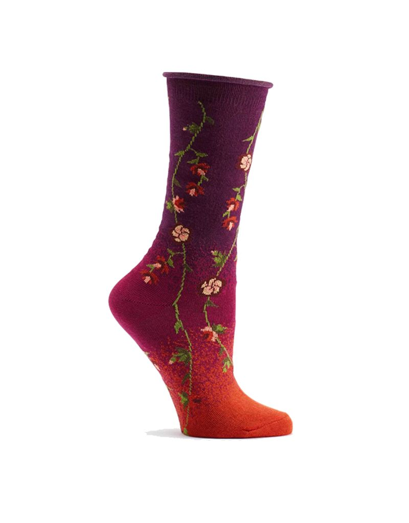 Ozone Designs Tibetan Flower Sock