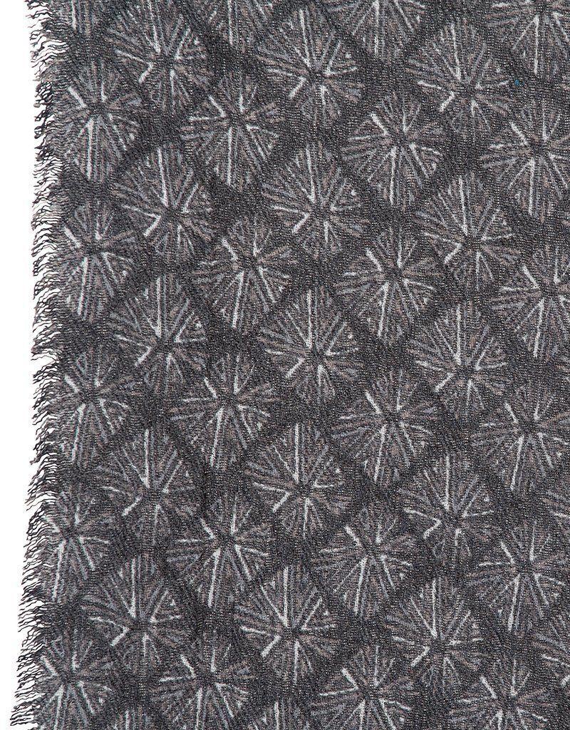 rockflowerpaper Chiko Black Printed Fringe Kimono