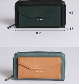 Pixie Mood Frances ZIp Around Wallet Vegan