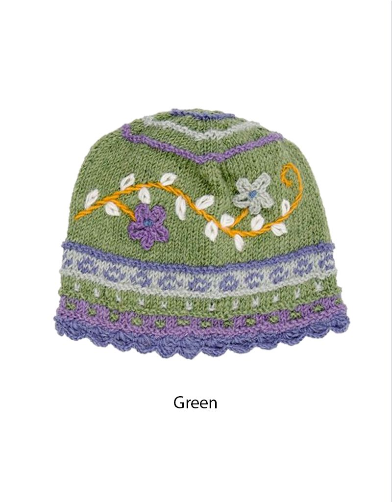Rising Tide Floral Reed Hat