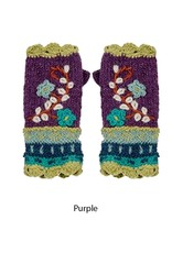 Rising Tide Floral Reed Fingerless Gloves