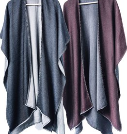 Bloom & Give Lara Reversible Merino Wrap