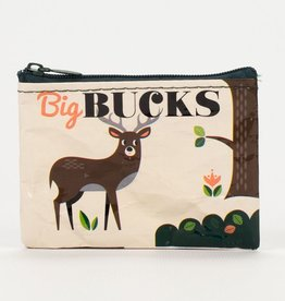 Blue Q Big Bucks Coin Purse