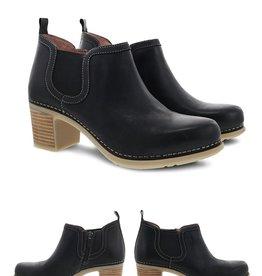 Dansko Harlene Waxy Burnished Short Boot