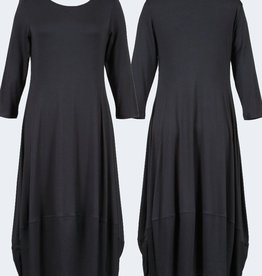 Comfy Solid Kati Dress