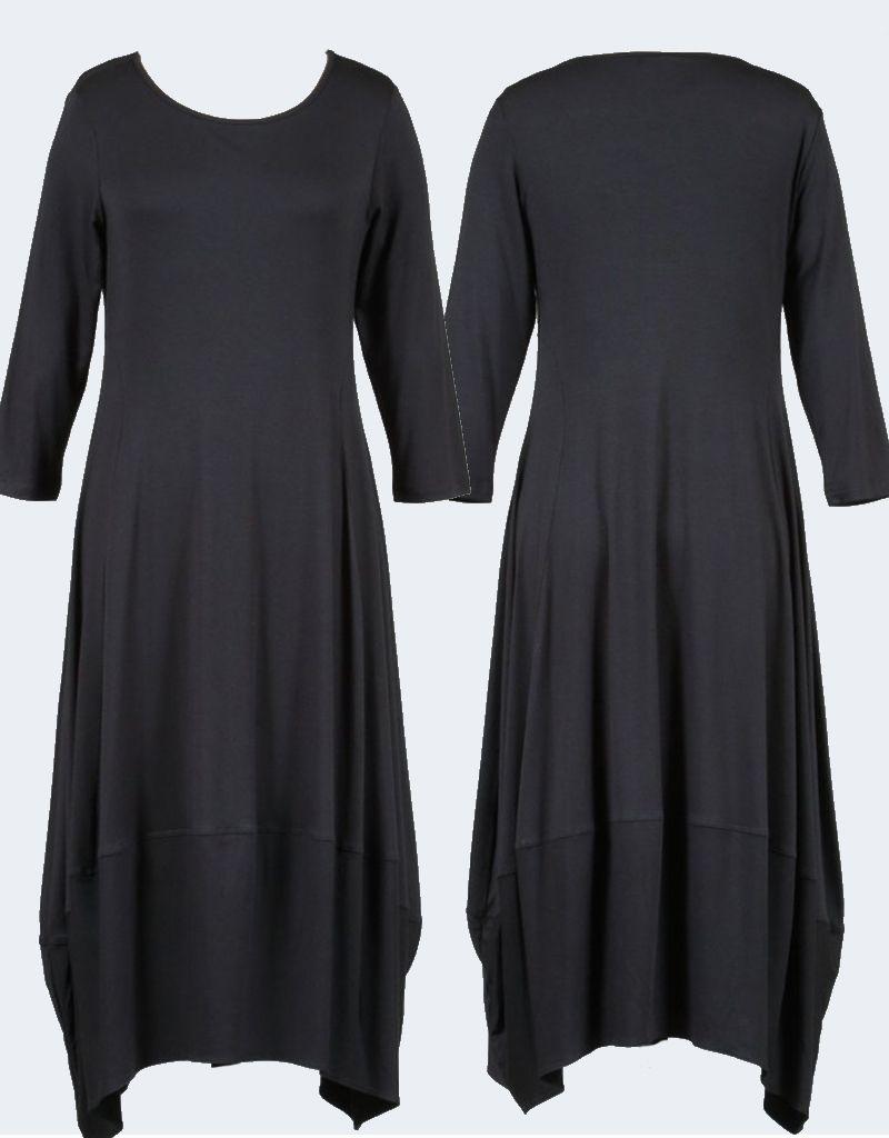 Comfy Solid Kati Dress