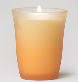 Rare Essence Awaken Spa Colored Glass Candle