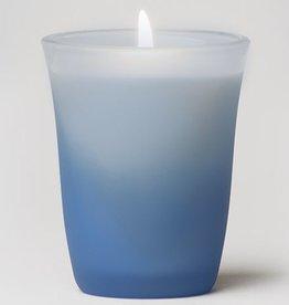 Rare Essence Peace Spa Colored Glass Candle