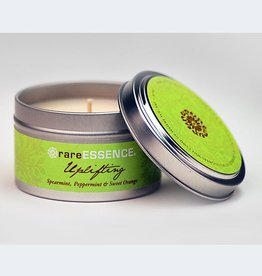 Rare Essence Uplifting Spa Travel Tin Candle