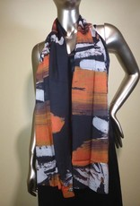 Cocoon House Wool Scarf-Cinnamon