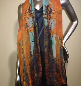 Cocoon House Wool Scarf - Autumn on the Banks