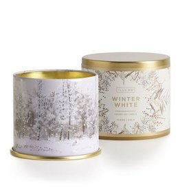 Illume Winter White Large Tin Candle