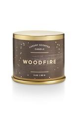 Illume Woodfire Demi Tin Candle
