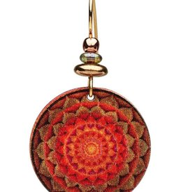 Earth Dreams Sun & Earth Mandala Earrings